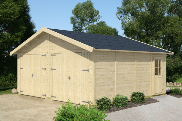 Holzgarage Visby 3