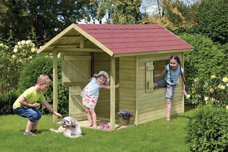 kinderspielhaus classic andy t v ca 150x240x160 cm holzwurm obersayn. Black Bedroom Furniture Sets. Home Design Ideas