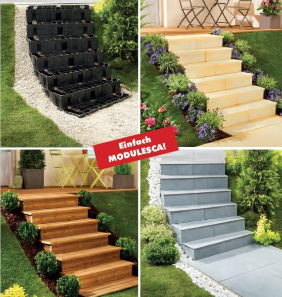 Hervorragend Treppensystem Modulesca | Holzwurm Obersayn EE38