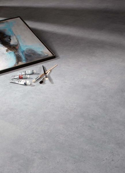 Klick Vinylboden mit HDF-Träger Beton