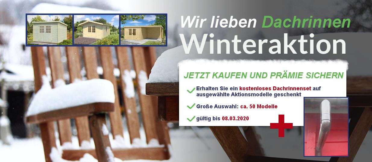 Gartenhaus Aktionspreise