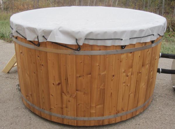 PVC Abdeckung für Badebottich mit Außenofen