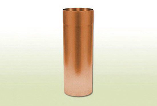 Entwässerung aus Kupfer