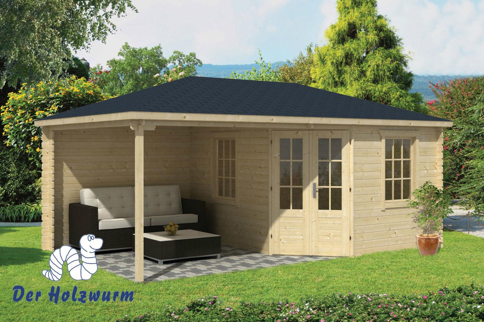 gartenhaus christoffer 28 mm ca 575x350 cm holzwurm obersayn. Black Bedroom Furniture Sets. Home Design Ideas