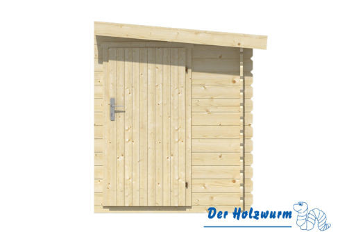 anbauschuppen 45mm ca 160x300 cm holzwurm obersayn. Black Bedroom Furniture Sets. Home Design Ideas