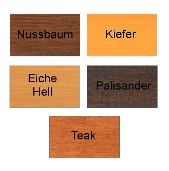 aktionslasur reesa gebinde 5 liter farbe kiefer nussbaum eiche hell palisander oder teak. Black Bedroom Furniture Sets. Home Design Ideas