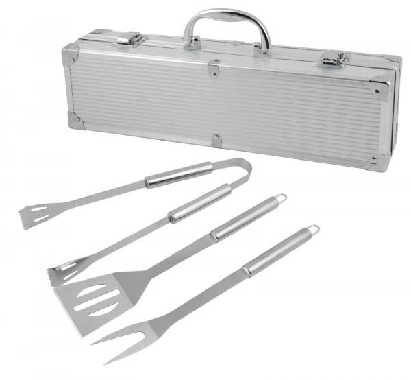 Grillkoffer-Besteck-Set