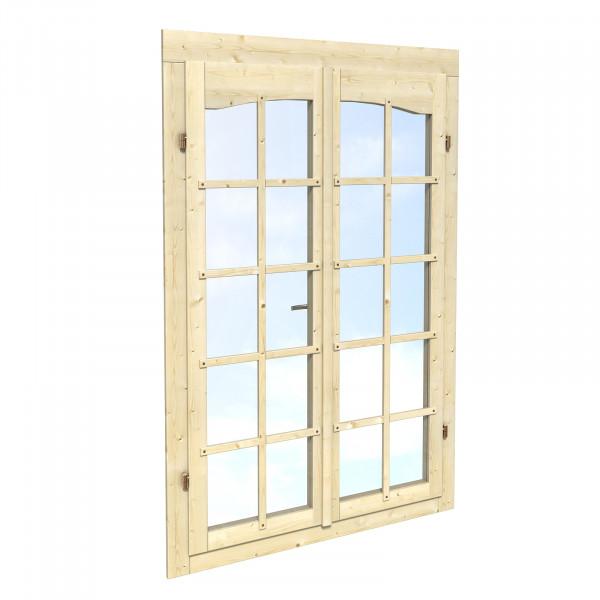 28 mm Doppelfenster Garden