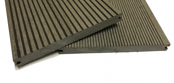 wpc terrassendiele hellgrau massiv xl 200 mm breit. Black Bedroom Furniture Sets. Home Design Ideas