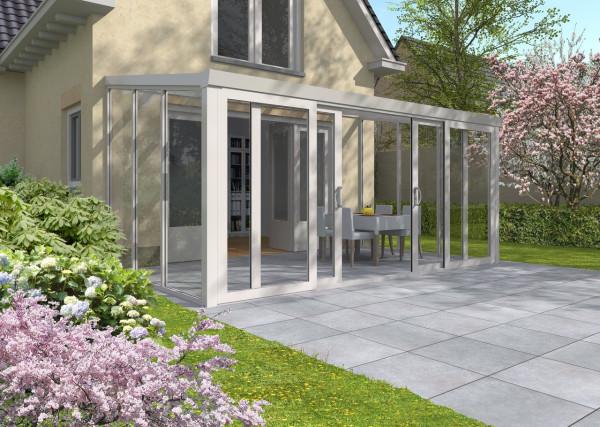 Gartenzimmer mit Schiebetür