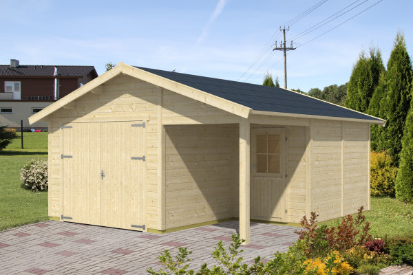 Holzgarage Visby 2