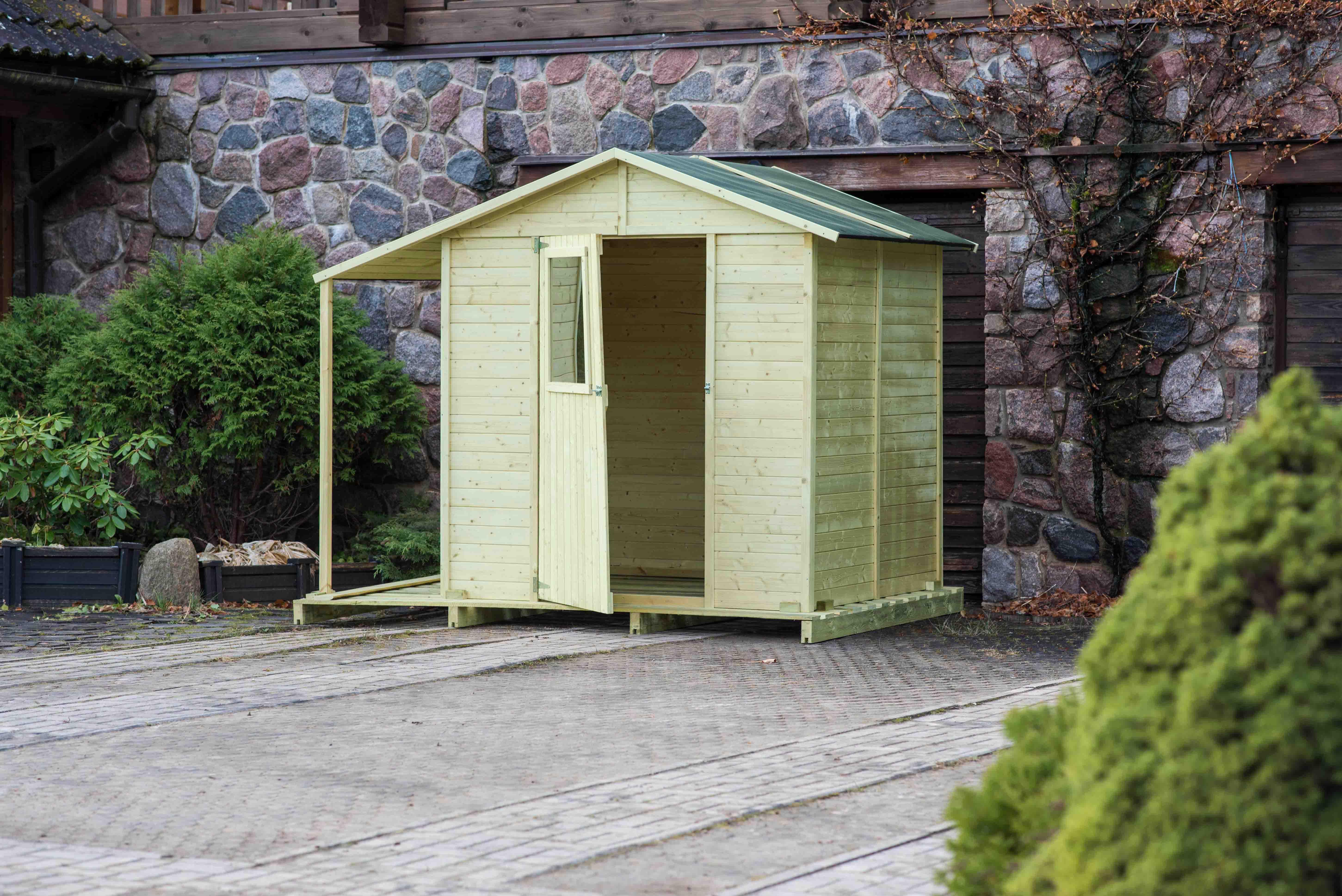 ger tehaus lappland 2 ca 181x164 cm holzwurm obersayn. Black Bedroom Furniture Sets. Home Design Ideas