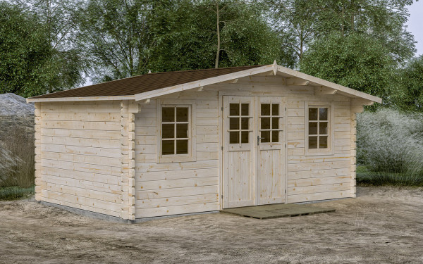 Gartenhaus Gera 10 44 mm ca 500x320 cm