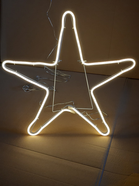 LED Lichtschlauchfigur Stern