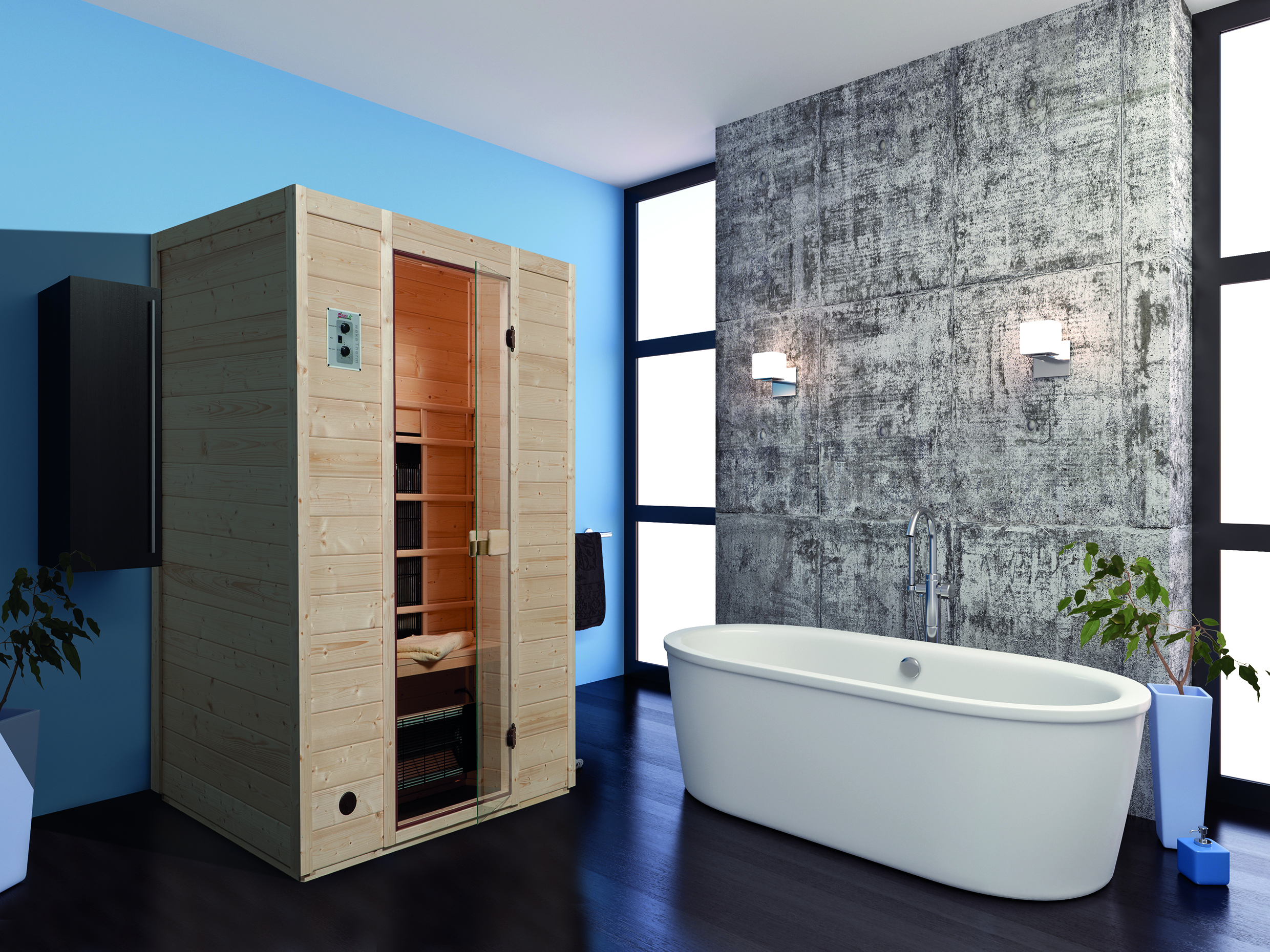 infrarotkabine vaala 2 holzwurm obersayn. Black Bedroom Furniture Sets. Home Design Ideas