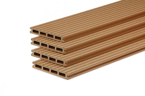 wpc terrassendiele natural hohlkammerdiele 150 mm breit holzwurm obersayn. Black Bedroom Furniture Sets. Home Design Ideas