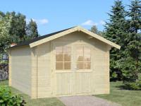 Gartenhaus Mit Fußboden 3x3m ~ Gartenhaus in wandstärke 34mm » holzwurm obersayn