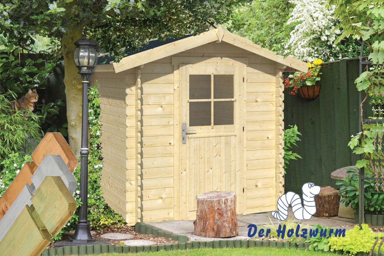 gartenhaus richard 28 mm ca 200x200 cm holzwurm. Black Bedroom Furniture Sets. Home Design Ideas