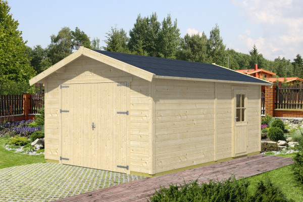 Holzgarage Visby 1