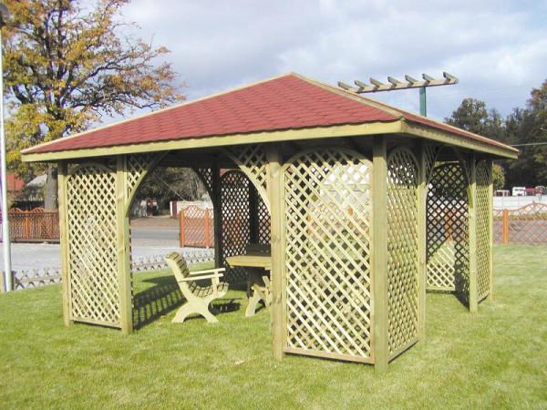 Gartenpavillon Romantica