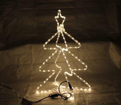 LED Lichtschlauchfigur Tannenbaum - kalte LED