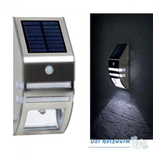 Solar Außenlampe mit Bewegungsmelder