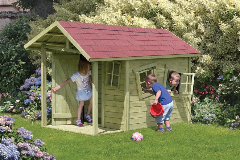 kinderspielhaus crazy andy t v ca 150x240x160 cm holzwurm obersayn. Black Bedroom Furniture Sets. Home Design Ideas