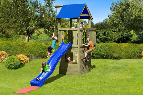 Kinderspielanlage Multi-Play Black Hawk