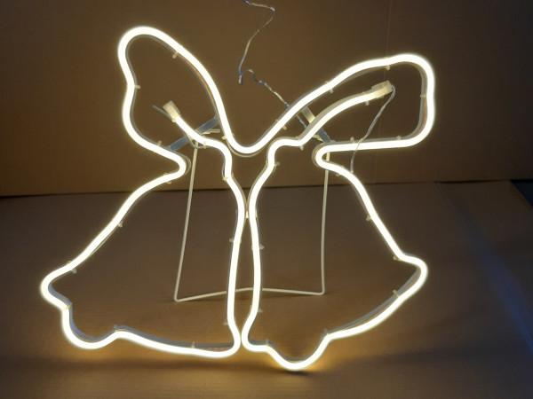 LED Lichtschlauchfigur Glocken