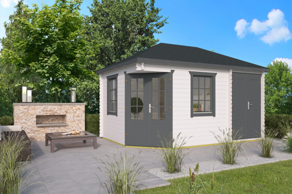 5-Eck-Gartenhaus Ash