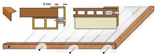 Holzwurm Online Shop - WPC Terassendielen - Abschlussarbeiten