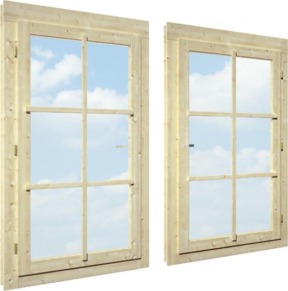 Einzelfenster 44 mm Garden+