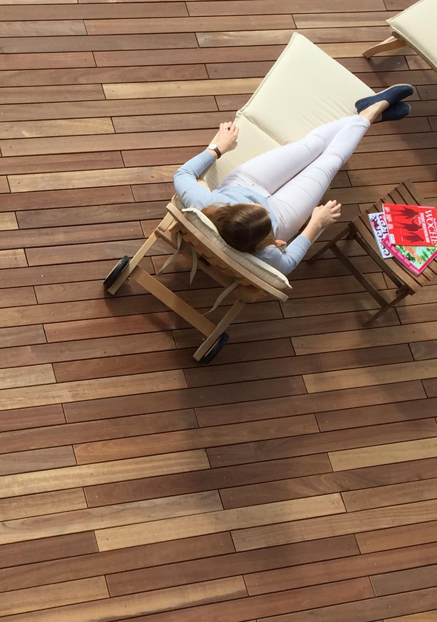 komplettset guyana teak terrassendielen holzwurm obersayn. Black Bedroom Furniture Sets. Home Design Ideas