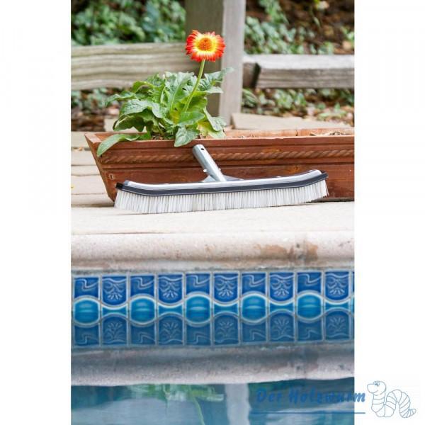 Schwimmbadbürste Alu Deluxe