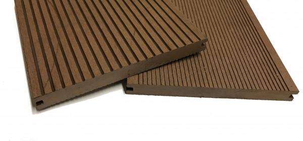 wpc terrassendiele dunkelbraun massiv xl 200 mm breit holzwurm obersayn. Black Bedroom Furniture Sets. Home Design Ideas