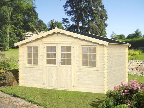 Gartenhaus Algarve | 28 mm | ca. 400x300 cm | Holzwurm Obersayn