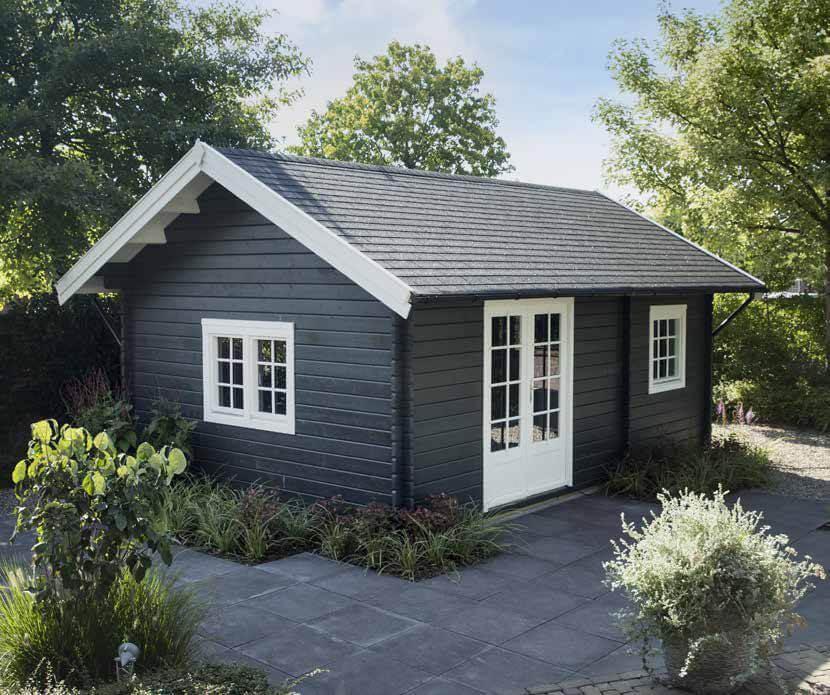 Gartenhaus Dacheindeckung Bitumendachbahn