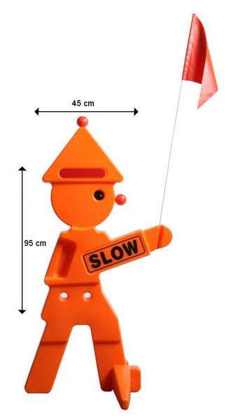 Warnfigur Safety Clown