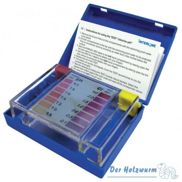 pH- und Chlor-Testset