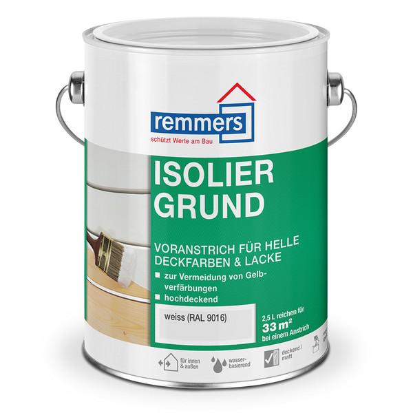 isoliergrund wei remmers f r unter deckfarben vermindert gelbverf rbungen holzwurm obersayn. Black Bedroom Furniture Sets. Home Design Ideas