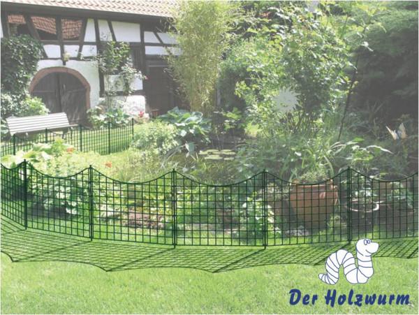 Teichzaun Rothenbach Holzwurm Obersayn