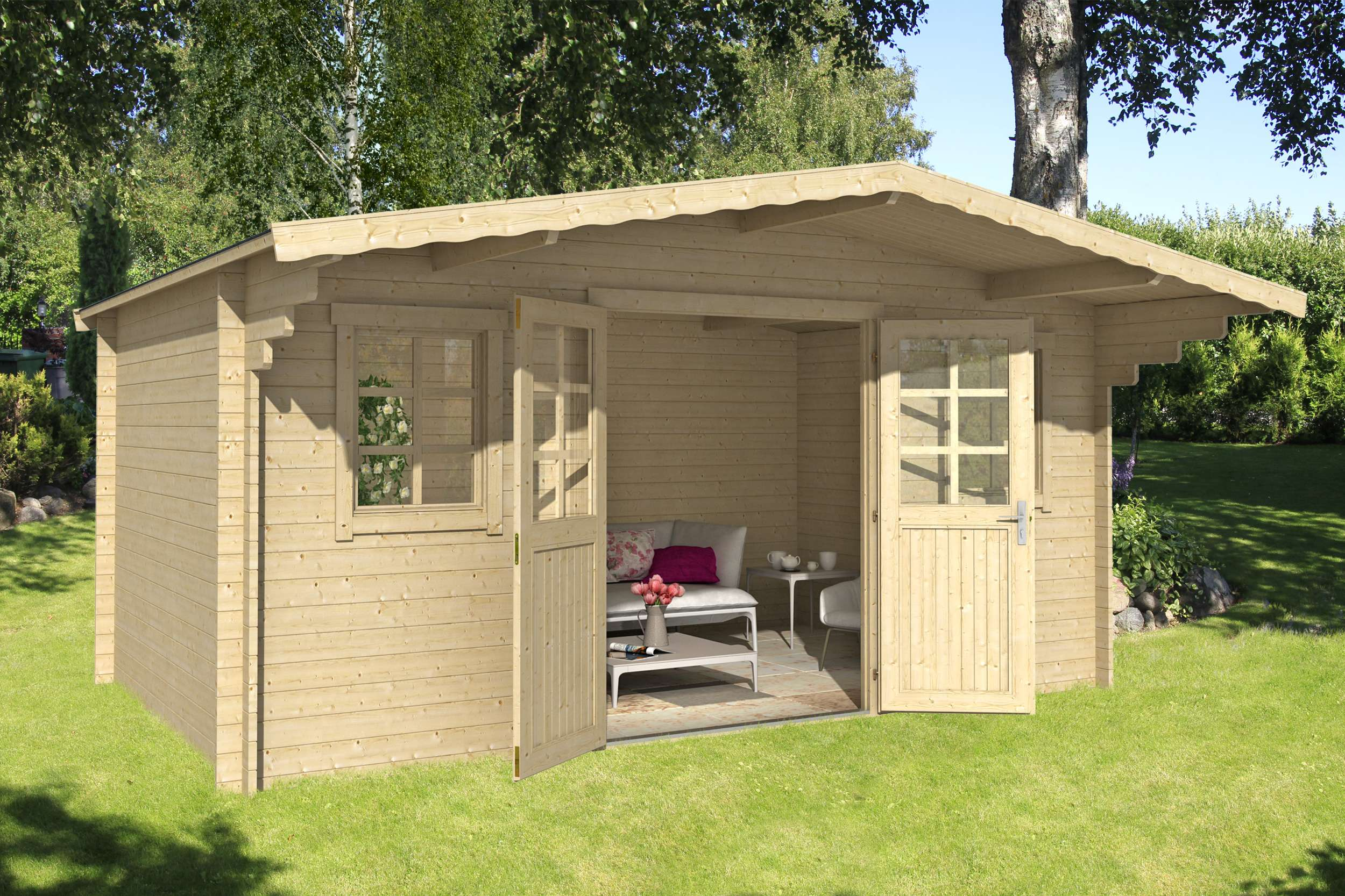 gartenhaus ausstellung hahn am see my blog. Black Bedroom Furniture Sets. Home Design Ideas