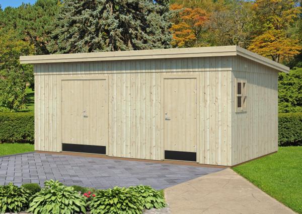 gartenhaus kalle 3 18 70 mm ca 561x330 cm holzwurm obersayn. Black Bedroom Furniture Sets. Home Design Ideas