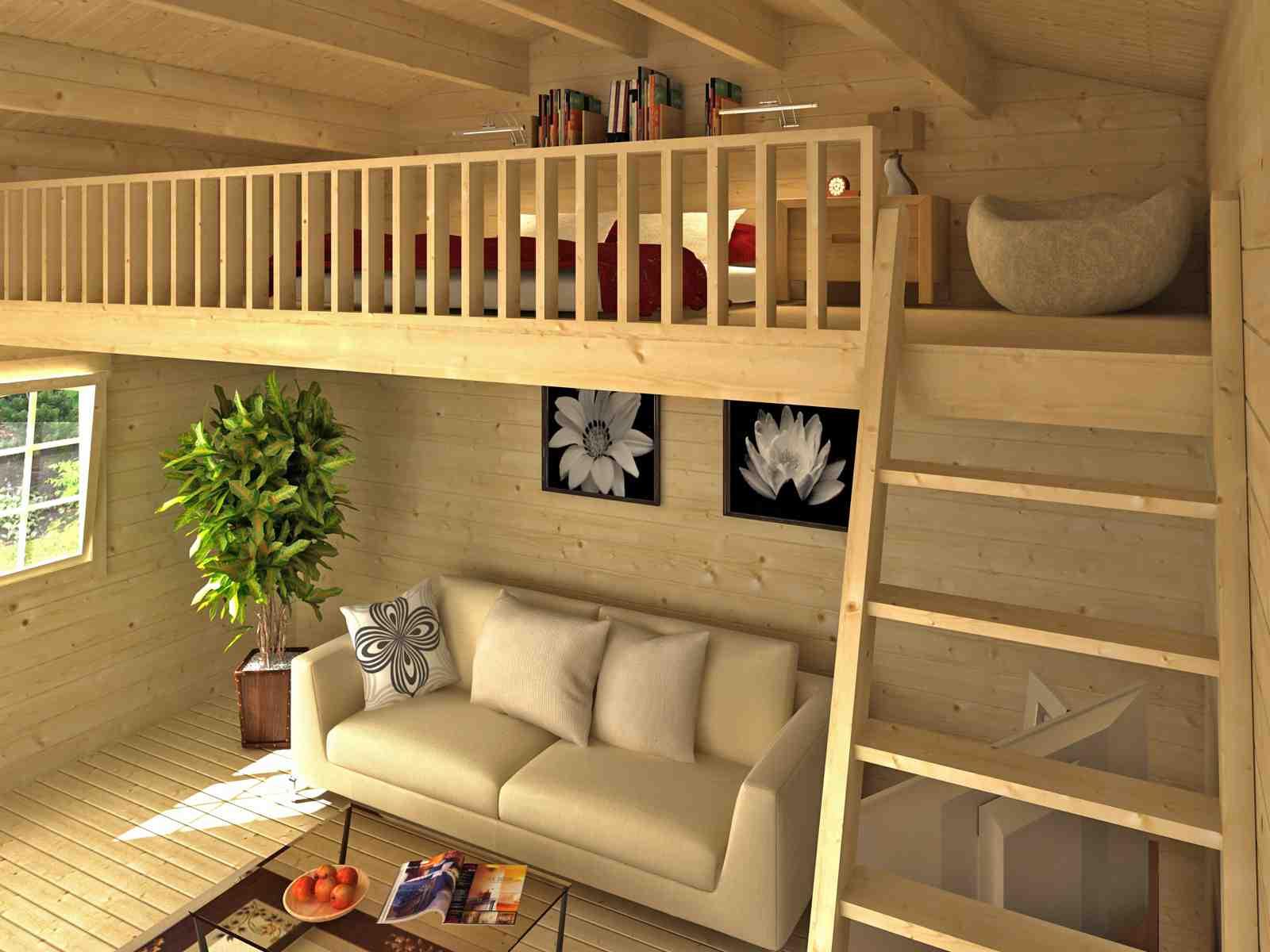 schlafboden zu gartenhaus zanzibar 1 70 mm ca 8 8 m holzwurm obersayn. Black Bedroom Furniture Sets. Home Design Ideas