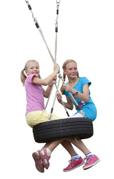 Seilset für Reifen horizontal
