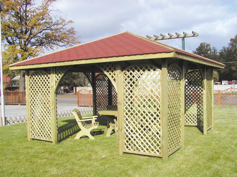 gartenpavillon ania ca 300x300 cm holzwurm obersayn. Black Bedroom Furniture Sets. Home Design Ideas