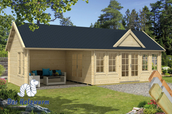 gartenhaus big ben 70 mm ca 930x400 cm holzwurm obersayn. Black Bedroom Furniture Sets. Home Design Ideas