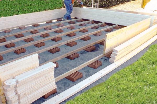Fundamentsteine | Maße ca.: 22x22x8cm | Holzwurm Obersayn
