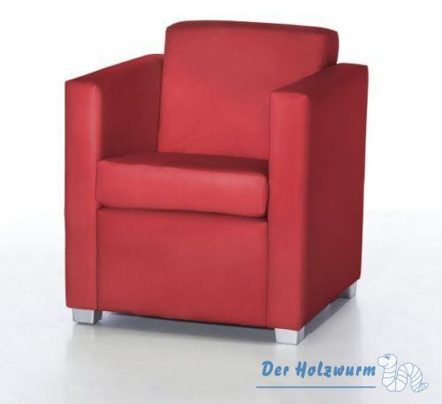 Sessel Vincenzo Rot